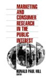 Marketing & Consumer Research in Public Interest