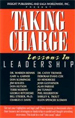 Taking Charge Lessons In Leadership