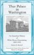 That Palace in Washington - Marti Mongiello