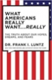 What Americans Really Want...Really - Frank Luntz