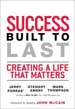 Success Built to Last - Mark Thompson