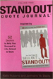 STAND OUT Quote Journal Volume 2 - Dr. Jermaine Davis
