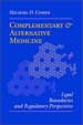 Complementary and Alternative Medicine - Michael Cohen