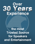Speakers Bureau service for over 30 years.