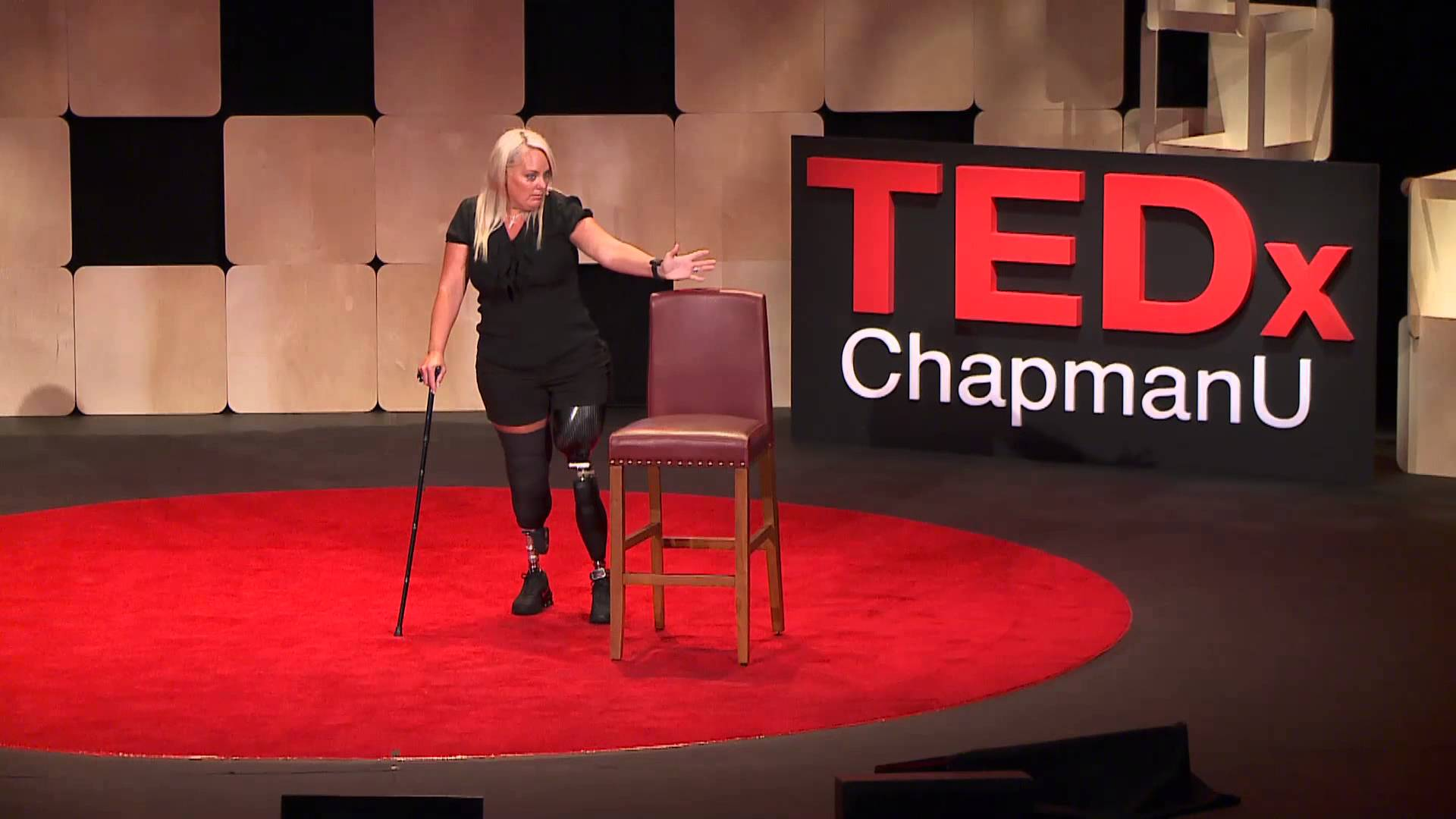 Stephanie Decker at TEDx ChapmanU in June 2014