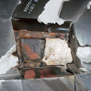 STS-27 tile damage 1