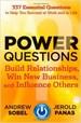 Power Questions - Andrew Sobel
