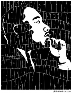 Artwork of MLK