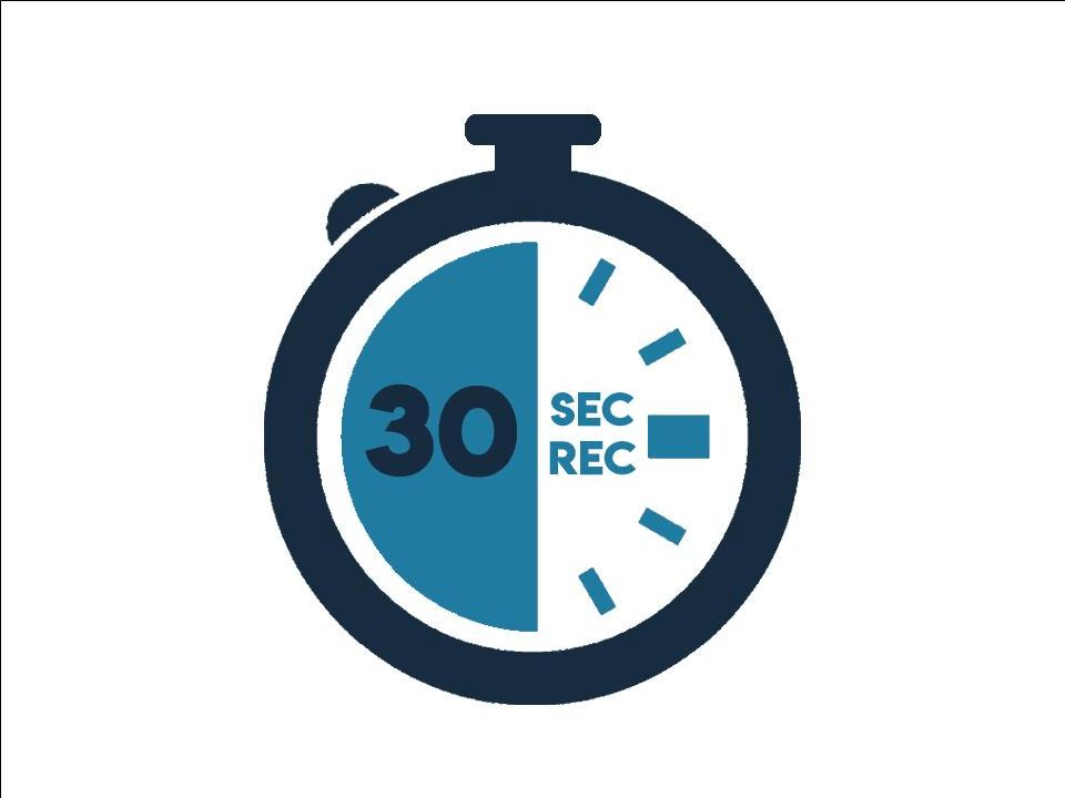 30 sec rec