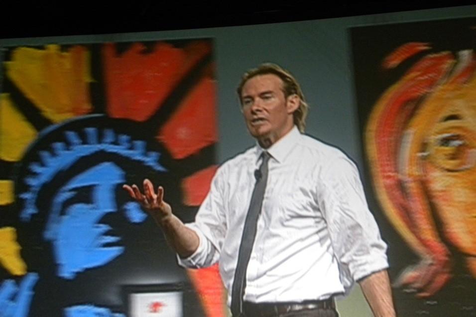 Erik Wahl speaker and artist
