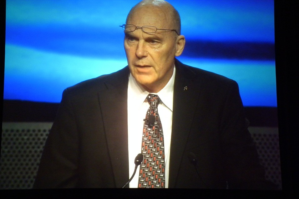 Coach Don Meyer presenting at 2011 GAMA LAMP conference