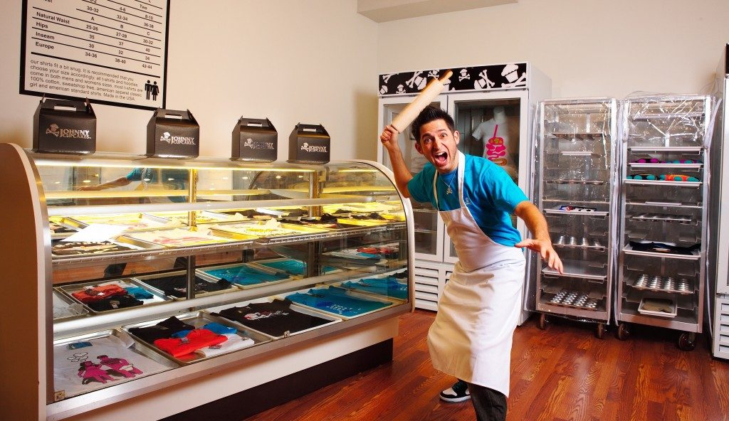 Johnny Cupcakes Earle