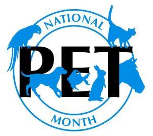 National-Pet-Month-Logo