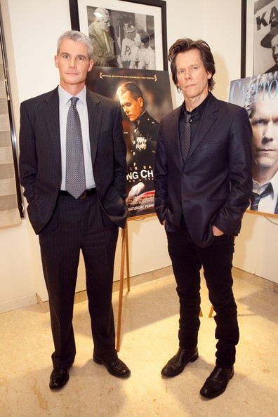 Michael Strobl and Kevin Bacon