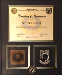 matthew certificate