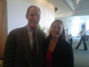 Steve Ford and Meredith Martini