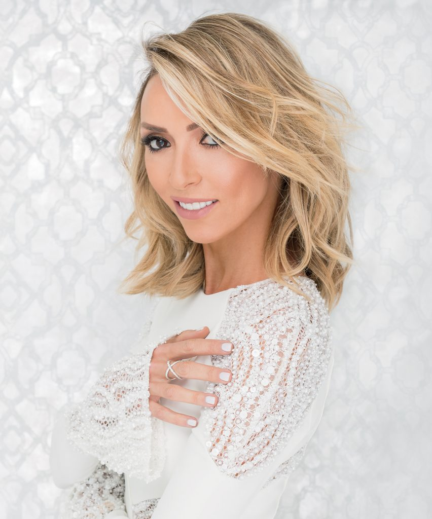 Giuliana Rancic White Shirt