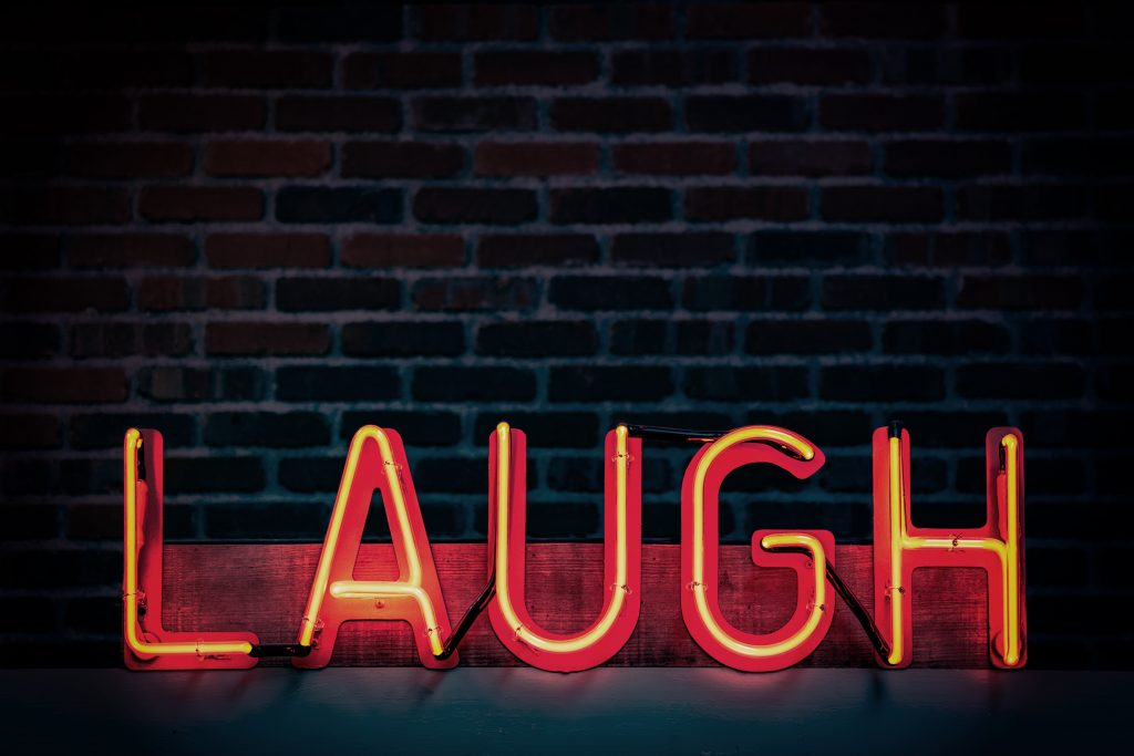 reducing stress with laughter
