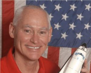 Astronaut Mike Mullane