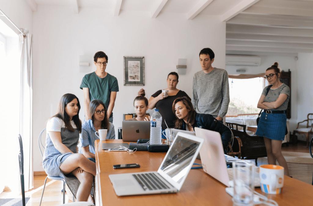Running a startup teamwork