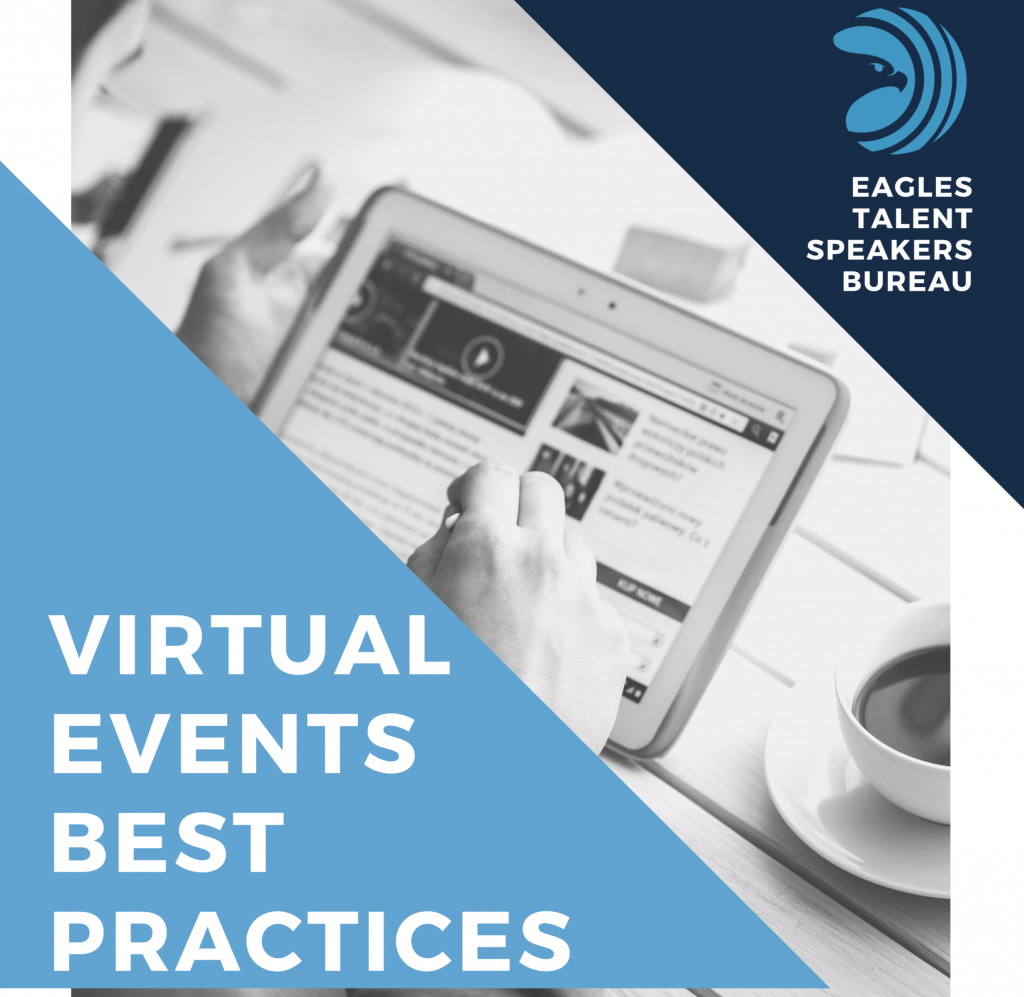 keynote speakers and tips for virtual events